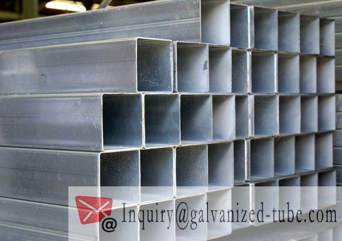40×40 Galvanized Square & Rectangular Steel Tubing