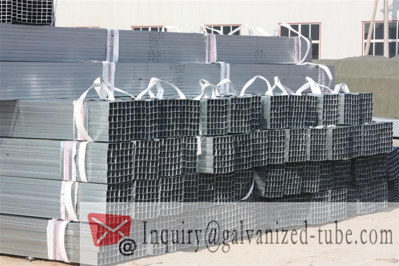 60×60 Galvanized Square & Rectangular Steel Tubing