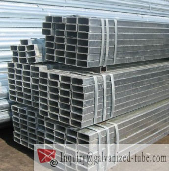 50×50 Galvanized Square & Rectangular Steel Tubing