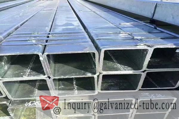 250×250 Galvanized Square & Rectangular Steel Tubing